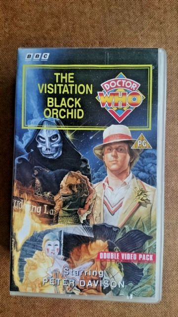 Doctor Who - The Visitation / Black Orchid (VHS, 1994, 2-Tape Set, Double Pack)